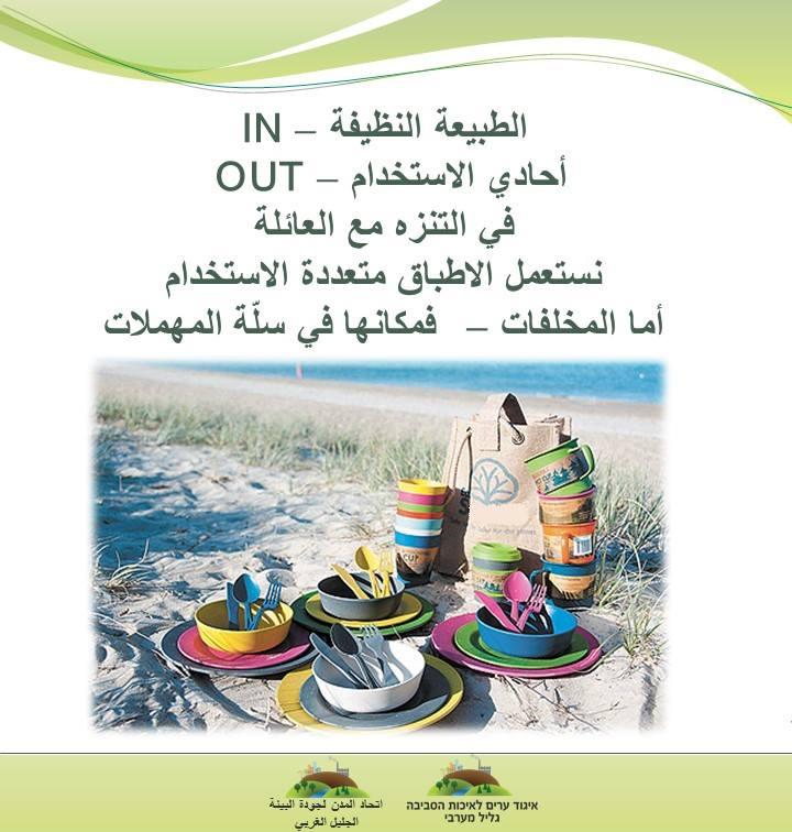 פלייר מידע בערבית